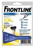 Leeway FRONTLINE SPOT ON SMALL DOG 2~10KG FLEA TICK & MITE KILLS & PREVENTS (X1 PIPETTE PACK)