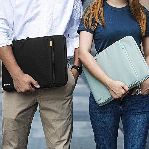 tomtoc Cordura Laptop Hülle Tasche für 16 Zoll MacBook Pro mit USB-C A2141, 15 Zoll MacBook Pro mit Retina Display A1398, Dell XPS 15, 15 Zoll Surface Book, Premium Wasserdicht Notebook Hülle Tasche