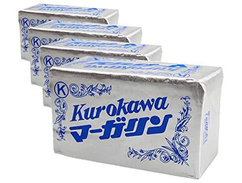 【業務用】マーガリン 黒川マーガリン(ポンド)×4本 kurokawa [クール料込・送料別]