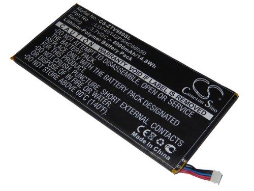 vhbw Batterie 4000mAh (3.7V) pour tablette netbook ZTE T98, V98, V9s remplace LI3740T42P5HC66050.