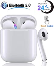 Wireless Earbuds,24 Hours Extended Playtime Bluetooth...