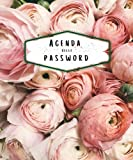 Agenda delle password: Credenziali e password in ordine alfabetico - Formato piccolo