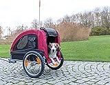 Trixie 12814 Fahrrad-Anhänger, M: 45 × 48 × 74 cm - 2