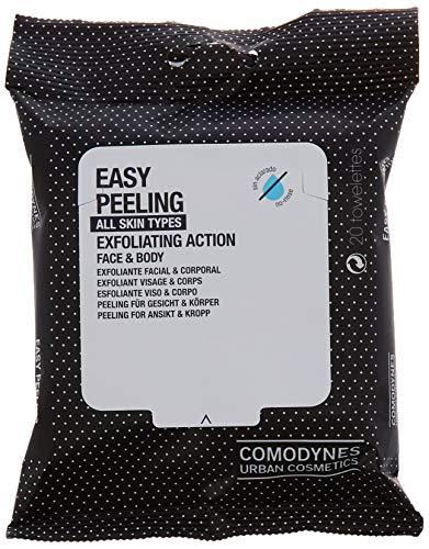 Comodynes Easy Peeling Peeling-Tücher Für Körper & Gesicht, 20 Stück