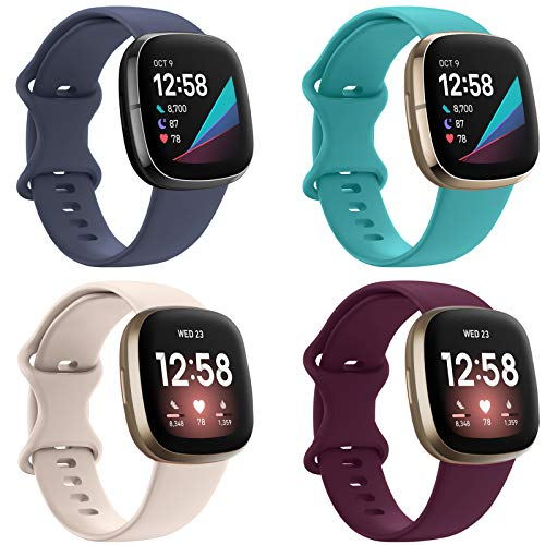 EZCO Fitbit Versa 3 Sports Band