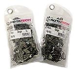 2 cadenas de motosierra originales giratorias, 35,5 cm, compatible con motosierra HUSQVARNA 135 235 236