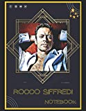 Rocco Siffredi Notebook: A Large Notebook/Composition/Journal Book with Over 120 College Lined Pages - Great Gift for a Close Friend or a Family