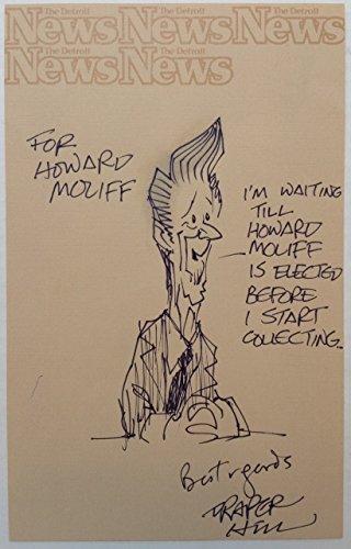 Original Cartoon of Ronald Reagan