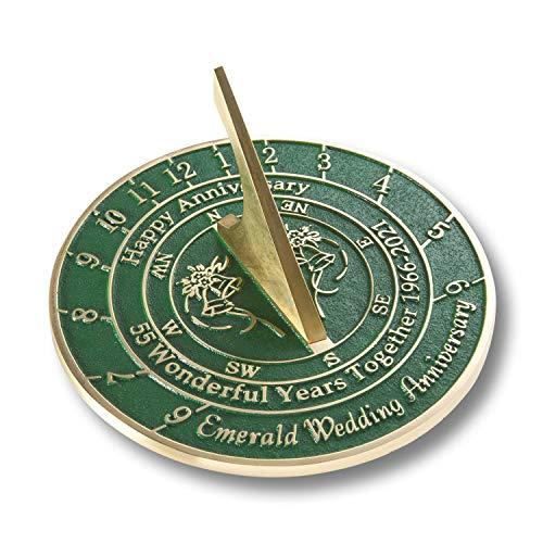 Emerald Anniversary Sundial