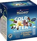 Meßmer Cold Tea Eiskaffee Vanilla   Für die Wasserflasche   mit echten Kaffeebohnen   ohne Zucker   ohne Kalorien   Alternative zu zuckerhaltigen Getränken wie Limonade oder Saft   14 Pyramidenbeutel