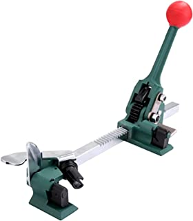 Portable Electric Baler, Strapping Machine دليل آلة التعبئة بالصلب التعبئة حزام الربط آلة كماشة التوتر
