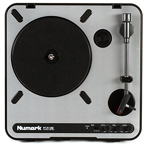 Learn More About Numark PT-01USB Portable Turntable (3-pack) Value Bundle