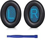 SoloWIT® Reemplazo Almohadilla de Repuesto Cojínes Oído Almohadilla para Bose QuietComfort 15 QC15 QC25 QC2 QC35/ Ae2 Ae2i Ae2w SoundTrue & SoundLink Around-Ear Auricular
