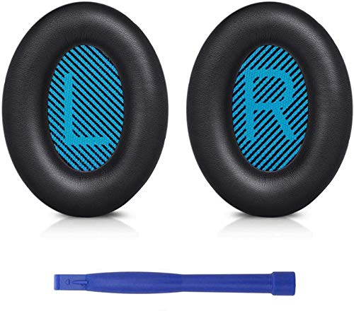 Professional Headphones Ear Pads Cushions Replacement - Earpads Compatible with Bose QuietComfort 15 QC15 QC25 QC2 QC35/ Ae2 Ae2i Ae2w SoundTrue & SoundLink (Around-Ear Series Only)
