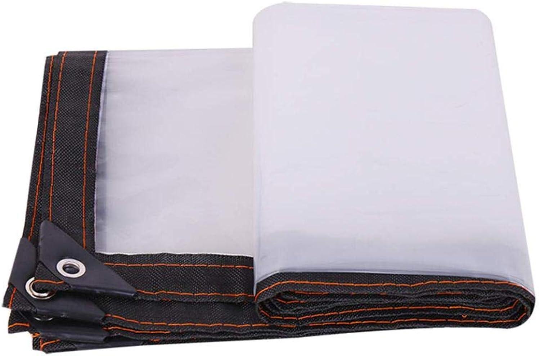 Poly Tarp - Clear Trans Trans Trans - Notfall-Regenschutz, Outdoor-Abdeckung und Campinggebrauch - Reversible,2x4m 6.6x13.2ft B07M93NXF3  Zu einem niedrigeren Preis 5446d9