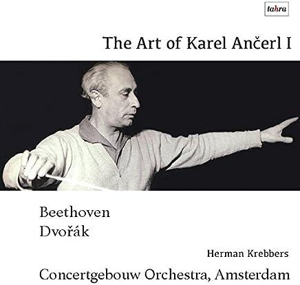 コンセルトヘボウの芸術I / カレル・アンチェル (The Art of Karel Ancerl I / Herman Krebbers - Karel Ancerl - Concertgebouw Orchestra, Amsterdam) [CD] [Live Recording] [日本語帯・解説付]