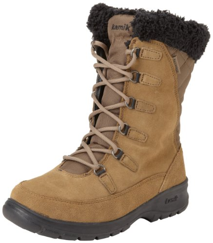 Hot Sale Kamik Women's Boston Snow Boot,Taupe,10 M US