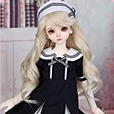 ZHDQ BJD Doll 1/4 16Inch DIY Toys Cosplay Muñecas de Moda Ball Jointed SD Dolls con Ropa Shoes Peluca Maquillaje Niñas