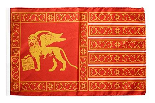 Flagge / Fahne Italien Venedig Republik 697-1797 + gratis Sticker, Flaggenfritze®