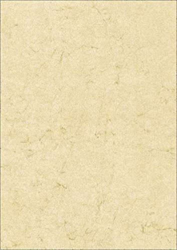 RNK 2864 - Dokumentenpapier, DIN A4, Elefantenhautpapier, 110g/m², 1 Packung mit 100 Blatt, chamois, 1 Stück