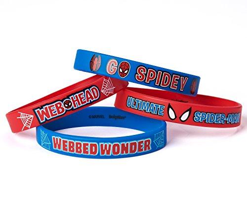 Bracelets en caoutchouc Spider-Man