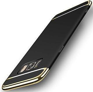 MQman Galaxy S8 Galaxy S8+ ケース PC メッキ加工 軽量 衝撃防止 3パーツ式 薄型 S8/S8 plus 鍍金 ハードカバー SC-02J 薄い SC-03J SCV35 SCV36 ギャラクシー S8 プラス お...
