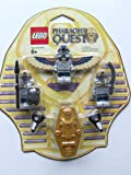 LEGO Pharaohs Quest Mummy Battle Pack Serpent Warrior Mummy X2, Flying Mummy Golden Sarcophagus