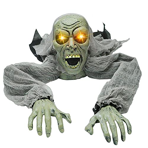 JOYIN Halloween Décor Groundbreaker Zombie with Sound and Flashing Eyes for Yard Outdoor Decorations