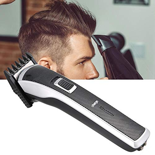 Cortapelos con base, cortapelos eléctrico, cortapelos Familia de herramientas de peluquería profesional, máquina de afeitar, cortapelos eléctrico recargable(EU)
