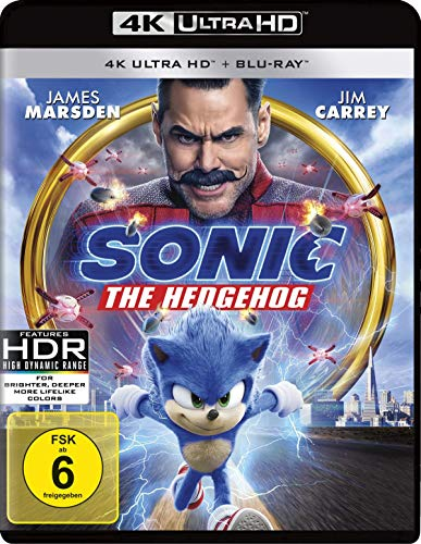 Sonic the Hedgehog (4K Ultra HD) (+ BR) [Blu-ray]