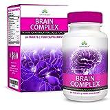 Complejo Estimulante Cerebral - Suplemento Vitamínico Nootrópico - Apto Para...