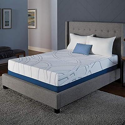 """Serta SleepToGo 12"""" Gel Memory Foam Luxury Mattress King"""