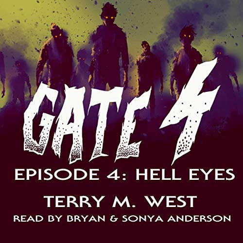 Gate 4: Hell Eyes audiobook cover art