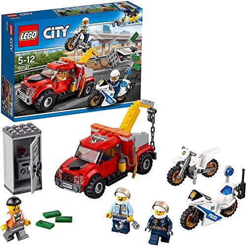 LEGO City Police - Camión grúa en Problemas (60137)