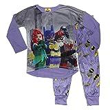 LEGO The Batman Movie Girls Poly Pajamas 4-12 (7/8) Purple
