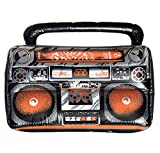 Amscan 842116 Inflatable Boom Box Costume Accessory, One Size, Multicolor