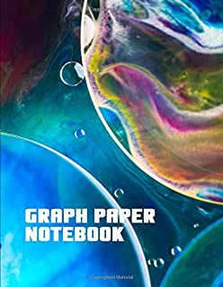 Graph Paper Notebook. Blank Quad Ruled Graph Paper Notebook Journal Planner Diary.