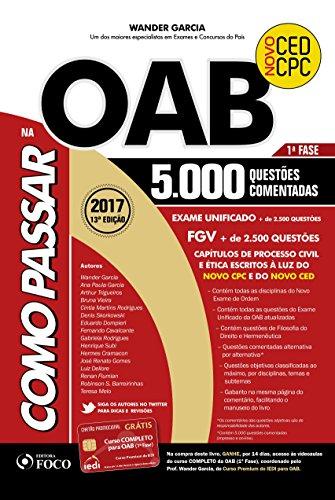 Como Passar na OAB 1ª Fase: 5.000 Questões Comentadas