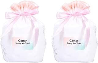 2 Pcs Disposable Face Towel Soft Towel Roll Cleansing Cotton Pad Non Woven Soft Towel
