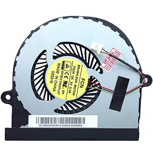 Lüfter Kühler Fan Cooler kompatibel für Acer Aspire V5-591, Acer Aspire V5-591G, Model: DFS531005FL0T-FG2P