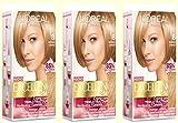 L'Oreal Excellence Creme 8 Rubio Claro Tinte para el cabello, 3 unidades