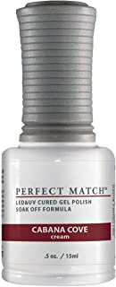 Lechat Nails Perfect Match UV LED Gel Polish & Matching Color Nail Gelish Polish - Cabana Cove
