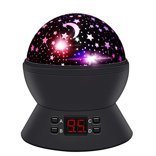 ANTEQI Night Lights for Kids,Star Projector with Timer and 360 Degree Rotating for Boys,Girls...