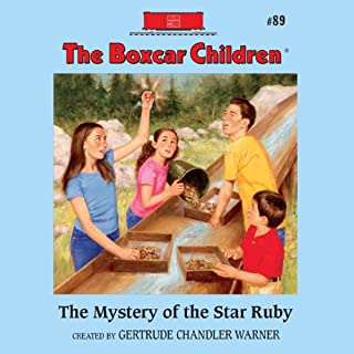 The Mystery of the Star Ruby audiobook cover art