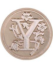 Wax Sealing Stamp, Nelnissa European Letter Wax Paint Seal Vintage Envelope Sealing Copper Head Stamp(Y