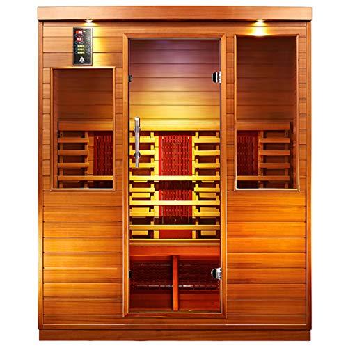 Sunspa Health Wellness Infrarotkabine 9003 Zedernholz 4 Personen ca. 160 x 110 x 195 cm