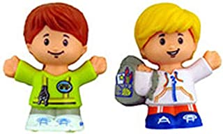Fisher-Price Little People Sit with Me School Bus - Replacement Student and Driver Figures DJB52