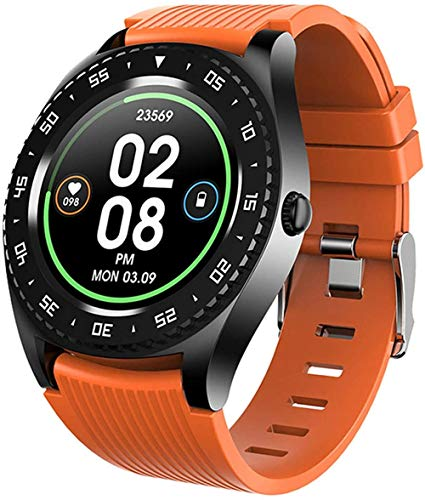 Smartwatch - Reloj inteligente para mujer, impermeable, Bluetooth, para Android y iOS, reloj inteligente, termómetro para el cuerpo, presión arterial, rastreador de fitness