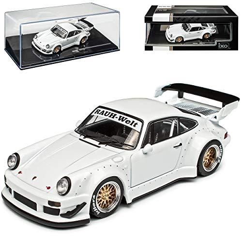 alles-meine.de GmbH Porsche 911 930 G-Modell Coupe Weiss RWB Rauh Welt 1973-1989 1/43 Ixo Modell Auto