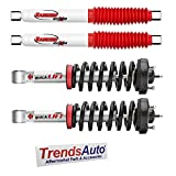 Rancho Quicklift Struts + Rear RS5000X Gas Shocks - Kit compatible with 07-16 Chevrolet Silverado 1500